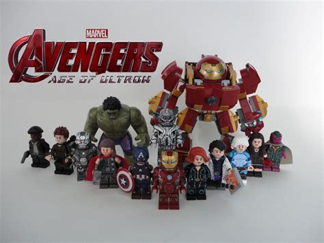 Lego Original Minifigure Captain America Age Of Ultron lego age of ultron custom minifigures