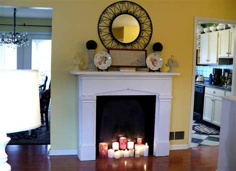 fireplace ideas no fire how to make a faux fireplace a cultivated nest