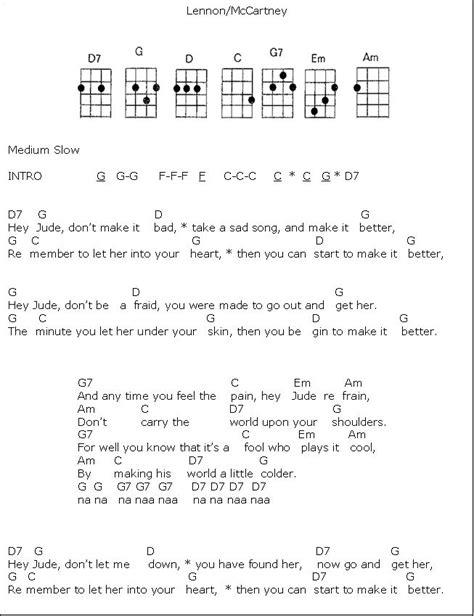 heart shaped tattoo ukulele chords hey jude 1 png 653 215 849 pixels song pinterest guitars