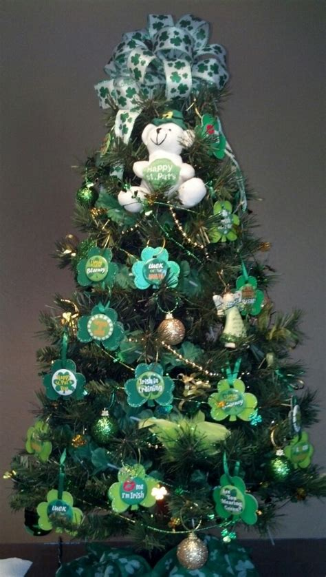 st patrick s day tree various holiday pinterest