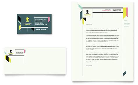 Finance Company Letterhead Professional Services Letterheads Templates Designs