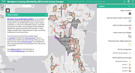 seattle interactive map map of the week seattle s interactive mha rezone map
