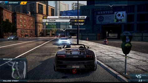 need for speed most wanted wagen need for speed most wanted test gamersglobal de