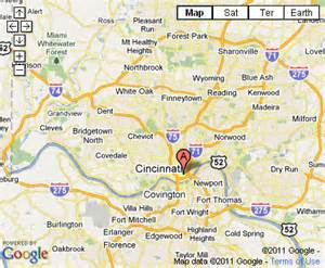 Cincinnati Ohio Map by Similiar Map Of Cincinnati Ohio Area Keywords