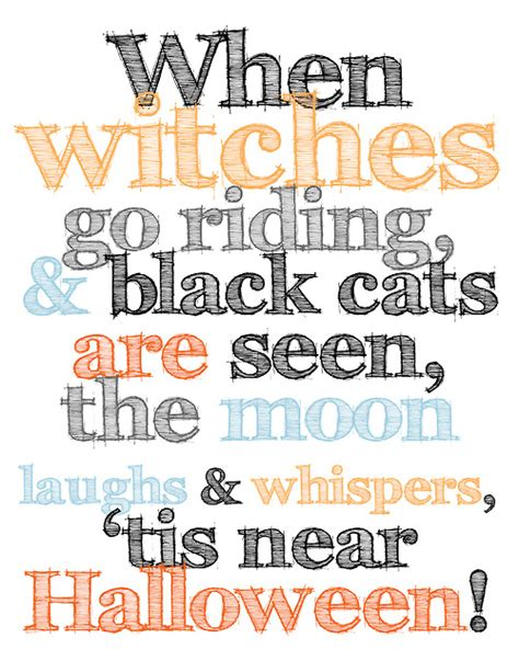 free printable halloween quotes quotes about witches halloween quotesgram