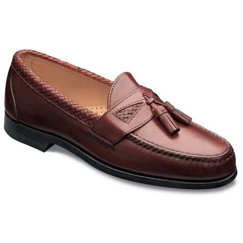 allen edmonds loafer allen edmonds mens maxfield tassel loafers chili