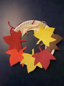 Paper Leaves Craft - leaves awesome story time