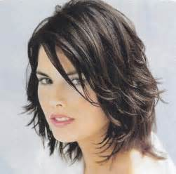 dyi shag hair cut medium length shaggy hairstyles cute brunette medium