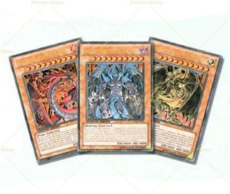 bestie sacre yu gi oh set di 3 carte bestie sacre collezione leggendaria 2