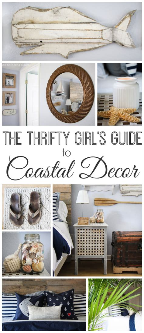 The Thrifty Girl S Guide To Coastal Decor The Thinking | the thrifty girl s guide to coastal decor the thinking