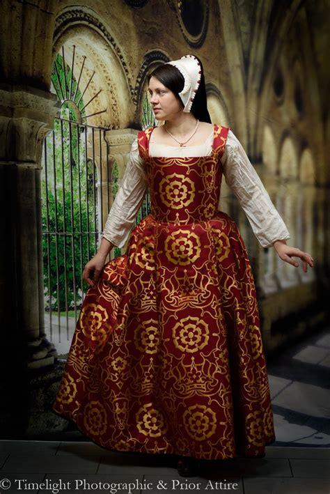 Mikhaila Dress Maroon 106 best images about early tudor clothing on