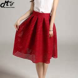 aliexpress buy huafei new fashion aliexpress buy mwsfh summer new style fashion skirt striped hollow out fluffy
