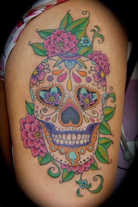 sugar skulls tattoos meaning sugar skull meaning skull designs
