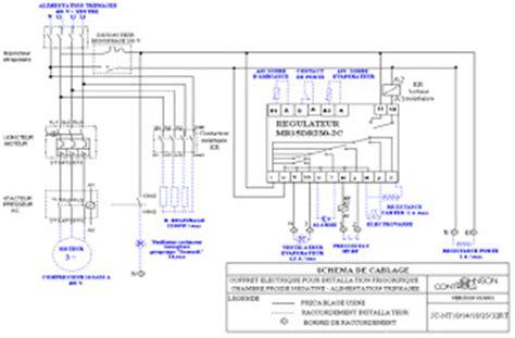 schema chambre froide negative coffret electrique schema electrique