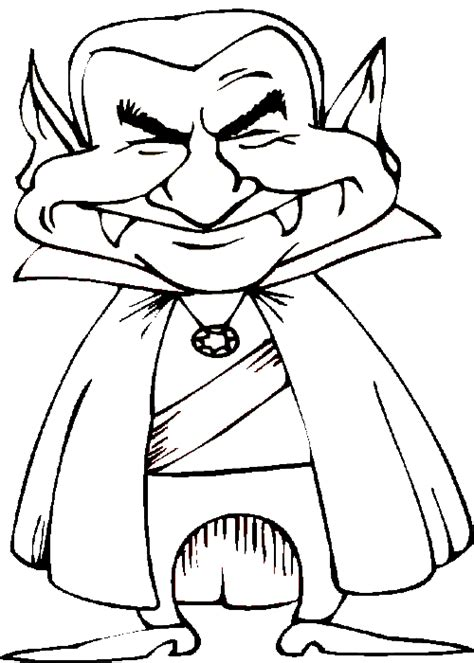 halloween coloring pages vampire coloring pages