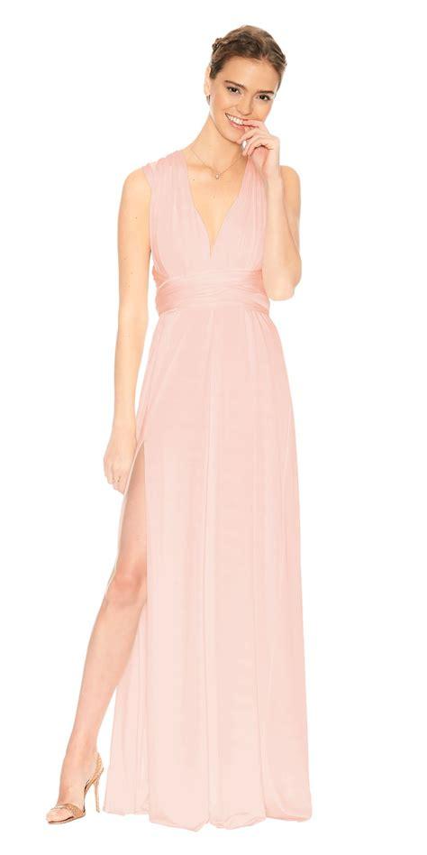 Flower Slit Dress classic slit dress twobirds bridesmaid