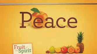 Fruit of the spirit 3 peace truth in grace