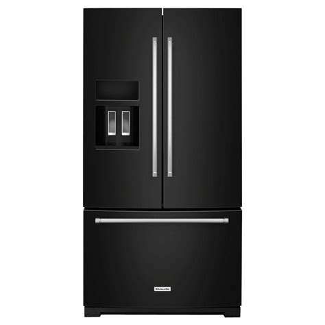 standard depth door refrigerator kitchenaid 26 8 cu ft standard depth door