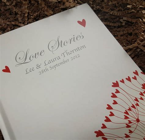 personalised anniversary journal by from you to me