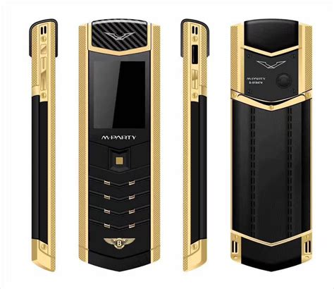 mparty lt2 luxury metal leather housing mobile phone