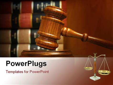 law templates for powerpoint free download judges gavel and law books stacked behind powerpoint