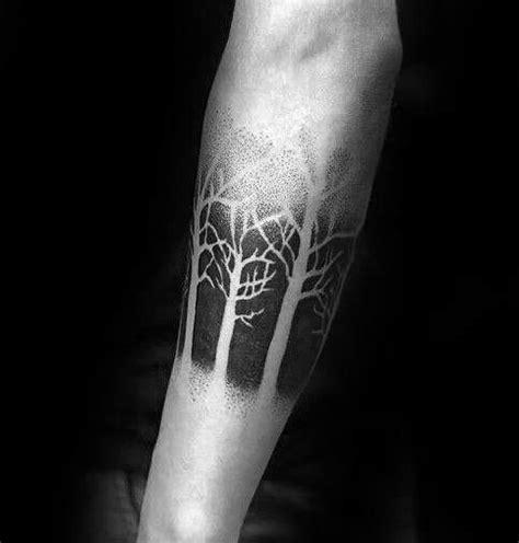 treeline tattoo 50 tree line design ideas for timberline ink