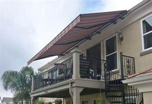 Sunbrella Retractable Awning Retractable Fabric Awnings San Diego County Ca Window
