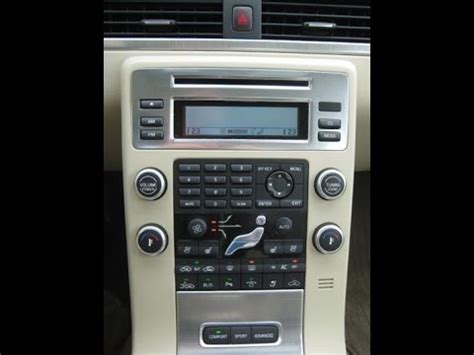how to fix cars 2010 volvo c30 navigation system how to remove 2008 volvo s80 dic a c radio display youtube