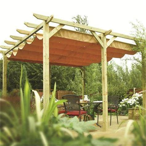Free Standing Canopy Verona Free Standing Sun Shade Canopy Retractable Timber