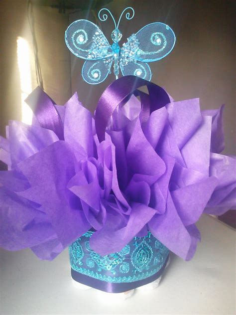 butterfly baby shower centerpieces butterfly mini cakes customize your table by jayleedesign