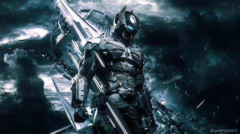 wallpaper batman knight batman arkham knight wallpaper 171 syanart