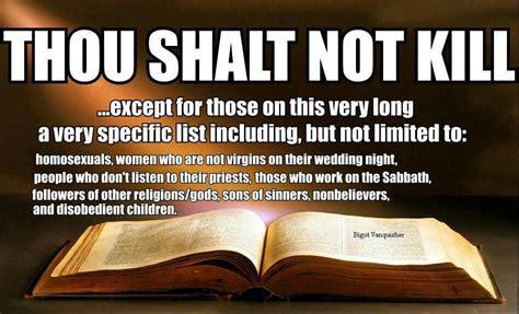 bible quotes  killing quotesgram