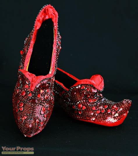 wizard of oz slippers the wizard of oz ruby slippers the arabian test shoes replica movie costume