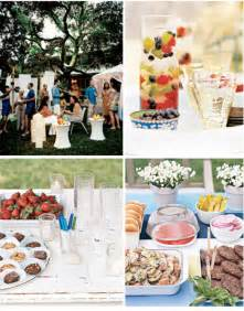 backyard birthday ideas real simple backyard party ideas at home with kim vallee