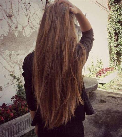 Stufenschnitt Lange Haare by 25 Best Ideas About Stufenschnitt Lange Haare On