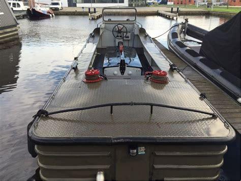aluminium boot leger legerboot opduwer