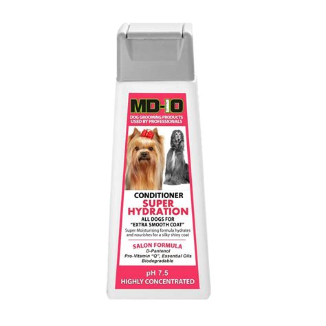 shih tzu conditioner professional grooming shoo md10 collection chu para perros md10