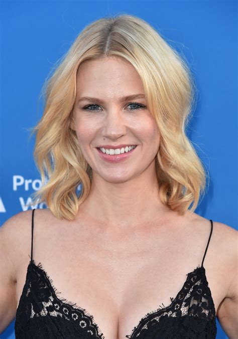 january jones medium wavy cut january jones medium wavy
