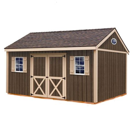 metal shed kits best barns brookfield 16 ft x 12 ft wood storage shed kit brookfield 1612 the home depot