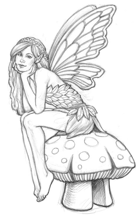 coloring pages for adults fairies coloring pages on dover publications