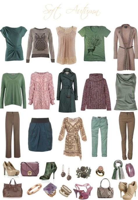 Soft Autumn Capsule Wardrobe by 1000 Ideas About Soft Summer Palette On Soft