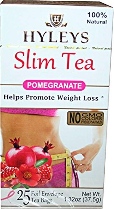 Hyleys Detox Kit Reviews by Hyley S Pomegranate Slim Tea 25 Foil Envelopes Pack Of 3