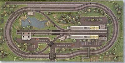 design build model railway layouts track plans cad