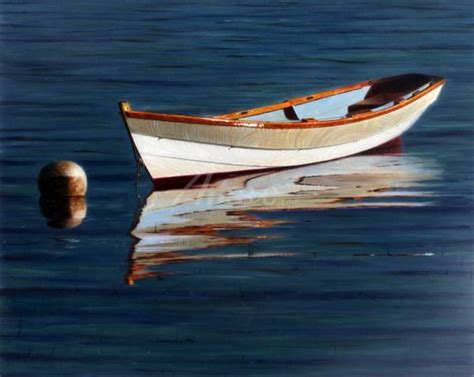 small boat on water paintings of boats on water www pixshark images