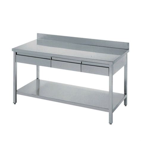 Stainless Steel Industry Kitchen Work Table Drawers Work Kitchen Work Table With Drawers