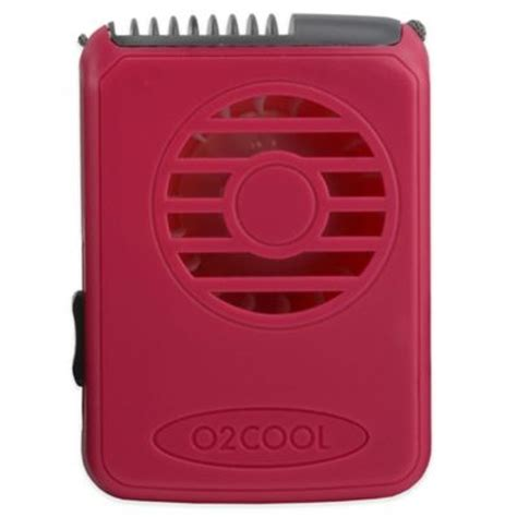 Buy O2cool 174 Deluxe Misting Fan In Raspberry From Bed Bath
