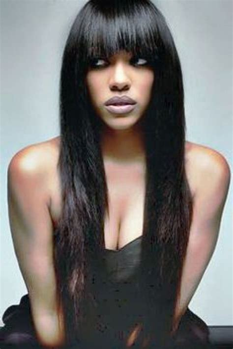 straight weave on pinterest straight weave styles with bangs 1000 ideas about
