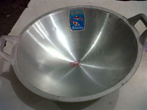 Wajan Alumunium Cor selatan jaya distributor barang plastik furnitur surabaya indonesia wajan cor aluminium merk