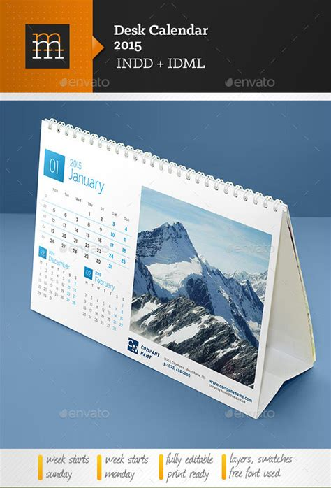 desk templates desk calendar template 30 free psd ai indesign eps