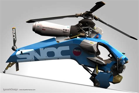 the ill yorker igarashi design single seat helicopter